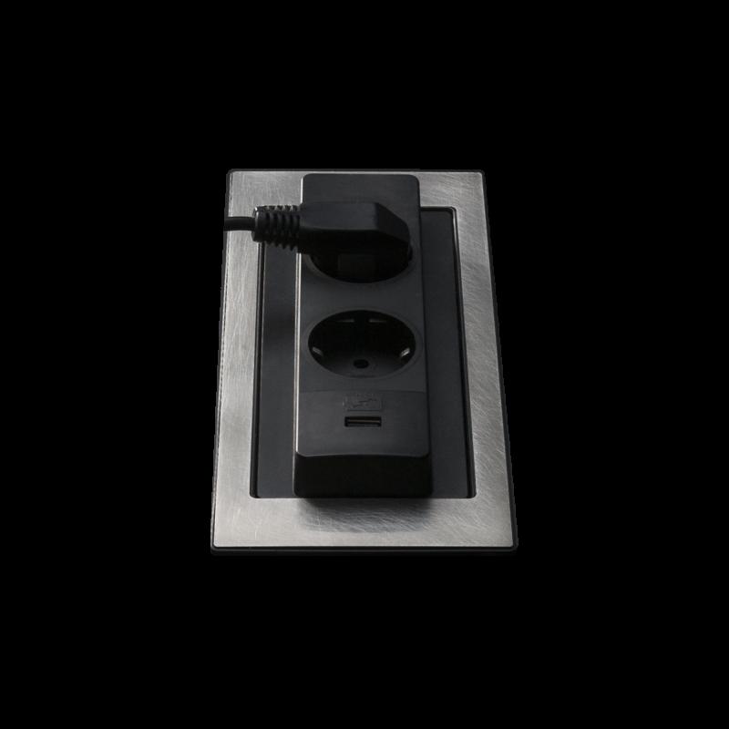 Rotating top power socket holder Vintage