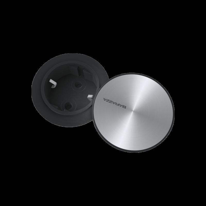 Smart power socket holder with Schuko socket built-in