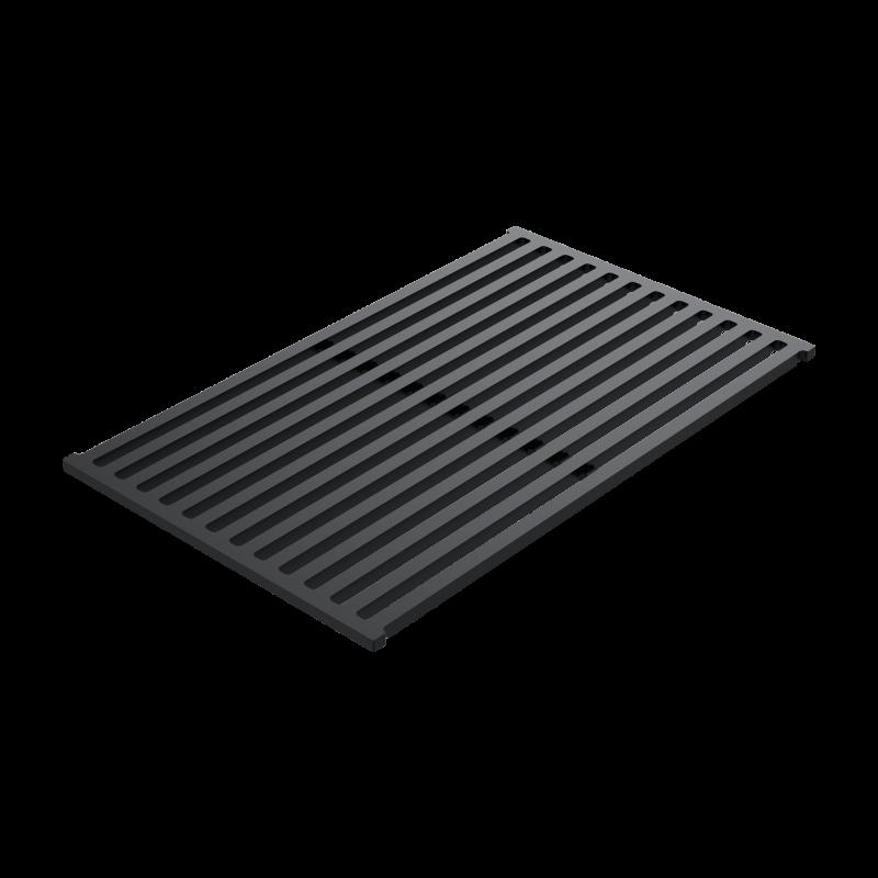 Sliding support grid in black HPL