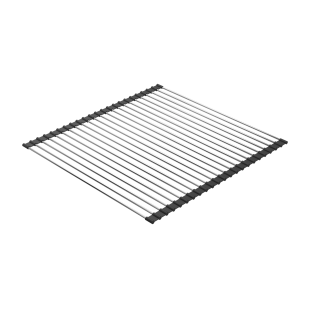 Roll-Up multi-purpose stainless steel rack
