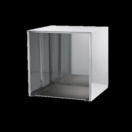 Cubo da banco in acciaio inox