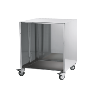 Stainless steel wheeled block