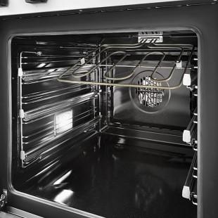 Kit 3 pairs of telescopic oven rails