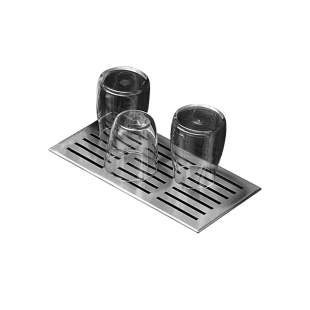 Large glass drainer